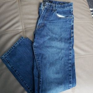 Relaxed straight fit jeans